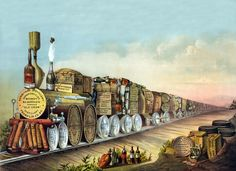 Express Train Carrying Alcohol Free Stock Photo HD - Public Domain Pictures