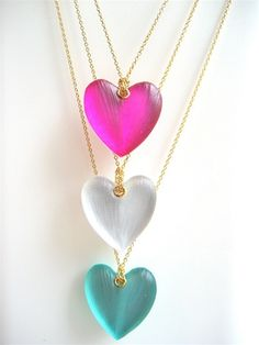 Alexis Bittar heart necklace.