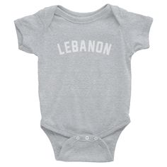 Lebanon City Onesie