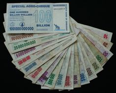 In the early 2000's Zimbabwe had a large inflation so large that is was the second largest inflation ever it was so bad that the currency had to change to the american dollar