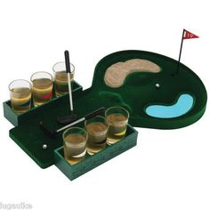 NEW 6 Shot Drinking Golf Game - indoor party game Lots of Fun!!