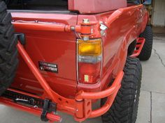 Modified Marlin rear bumper w& - : and Off-Road Forum Jeep Xj, Jeep Truck, Truck Bed, Pickup Trucks, Toyota 4x4, Toyota Trucks, Toyota 4runner, 1st Gen 4runner, Jeep Bumpers