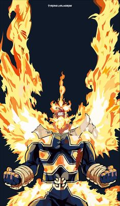 Endeavor Vector Art Darker Alternative by Raijtt on DeviantArt My Hero Academia Episodes, My Hero Academia Memes, Hero Academia Characters, My Hero Academia Manga, Anime Characters, Deku Anime, Deku Boku No Hero, Anime Fight, Japon Illustration