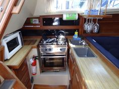 Sailboat This Is The Redesigned Boat Interior Of A