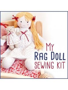 Create your own rag doll from the popular book, My Rag Doll! | InterweaveStore.com