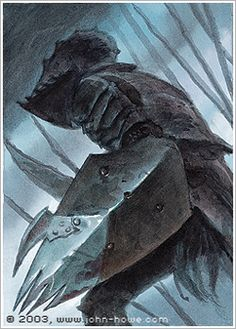 Orcs of the White Hand · John Howe Tolkien Books, Jrr Tolkien, Azog The Defiler, Orc Armor, John Howe, Chaos Legion, History Of Middle Earth, Morgoth, Fanart