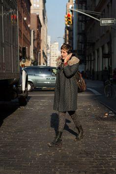 The Sartorialist: On The Street….. Crosby St., New York