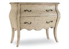 Melange L Inspiration Script Chest,Hooker Furniture