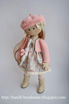 Hanifi handmade: куклы-девочки
