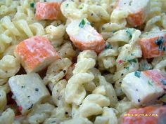 Fusilli, Surimi Recipes, Herbal Remedies, Pasta Salad, Food Inspiration, Barbecue, Entrees, Herbalism, Buffet