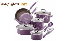 Enter to Win Rachael Ray 12-Piece Cookware Set #sweepstakes ends 1/12/18