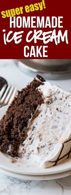 HOLY COW! This super easy Homemade Oreo Ice Cream Cake is so good! It's super easy to make and tastes just like a Dairy Queen cake, but a fraction of the cost! via @iwashyoudry