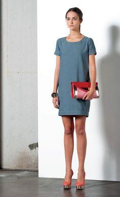 Look 49 . 318 Abito / Dress . 241 Bracciale / Bracelet . 276P Borsa / Bag . 212P Scarpa / Shoes