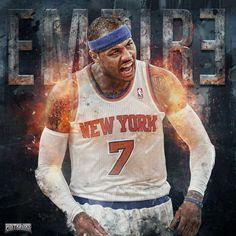 Carmelo Anthony 'Empire' Wallpaper | Posterizes.com - NBA Wallpaper Artwork
