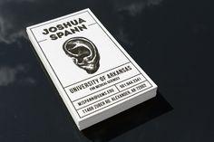 Custom letterpress business cards by Print & Grain (Via Designworklife)