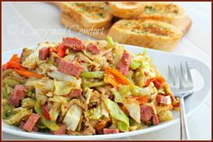 Curry and Comfort: Skillet Corned Beef and Cabbage