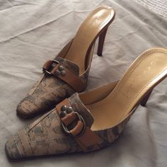 Casadei shoes size 8 Casadei shoes made in Italy worn few times. Size 9 fits 8. Casadei Shoes