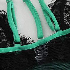 3a72e47ace4 Lmx 3f Women Sexy Bodysuit Plus Size Bra Lace Patchwork Lingerie siamesed  Bodydoll Sleepwear Underwear