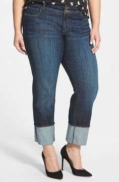 Check out my latest find from Nordstrom: http://shop.nordstrom.com/S/3924886  KUT from the Kloth KUT from the Kloth Wide Cuff Straight Leg Jeans (Opulent) (Plus Size)  - Sent from the Nordstrom app on my iPhone (Get it free on the App Store at http://itunes.apple.com/us/app/nordstrom/id474349412?ls=1&mt=8)