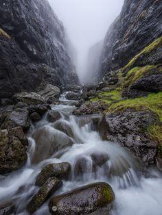 Troll's Gorge, Vagar, Faroe Islands