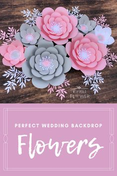 #weddingideas #weddingdecorations #paperflowers Unicorn Baby Shower Decorations, Bridal Shower Decorations, Birthday Party Decorations, Flower Decorations, Wedding Decorations, Paper Flower Wall, Paper Flower Backdrop, Flower Wall Decor, Paper Flowers Diy