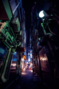 dark alley by burningmonk