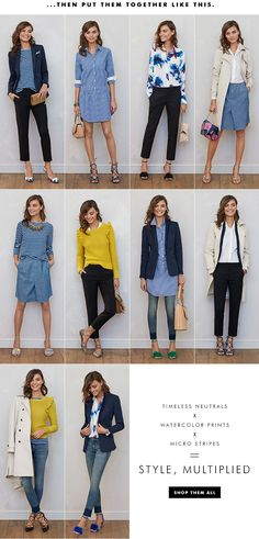 Women's Apparel: 10 pieces, 10 outfits | Banana Republic