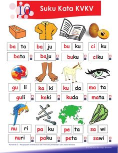 2.petua asas membaca Kindergarten Reading Activities, Free Kindergarten Worksheets, Preschool Writing, Alphabet Activities, Preschool Activities, Kindergarten Test, Cognitive Activities, Reading Worksheets, Preschool Printables
