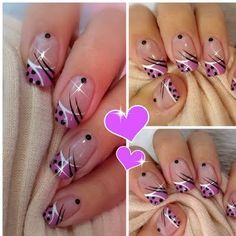 This nail art video shows a great frech tip creation. Your next manicure can be this beautiful by using the products listed here.