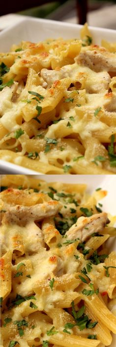 The Chicken Alfredo Baked Ziti is a new and improved way to make that creamy and utterly delicious chicken Alfredo pasta so much tastier. This recipe is all you need to make your favourite dish by new tastier way.
