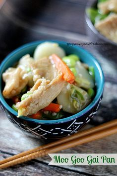 Moo Goo Gai Pan is an Asian dish that is served in Western countries. Make your own Moo Goo Gai Pan with the recipe that is included.