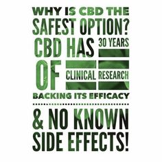 CBD is the safest option! Financial Analysis, Clinical Research, Medicinal Plants, Medical Advice, Hemp Oil, Side Effects, The Cure, Motivational Quotes, Medicine