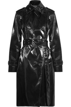 HELMUT LANG Coated-shell trench coat