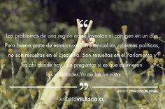 Andrés Velasco.