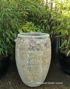 Large Atlantis Ribbed Pot Garden Vase   Woodside Garden Centre   Pots to Inspire Atlantis, Woodside Garden Centre, Under The Ocean, Olive Tree, Urn, Garden Pots, Planter Pots, Antiques, Vases