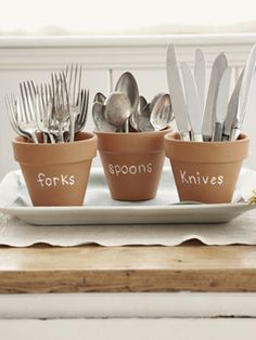 Good idea for get-togethers @Country Living Magazine.com