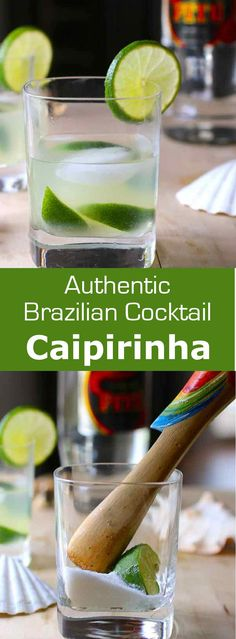Caipirinha, Brazil& national cocktail, is a refreshing alcoholic beverage prepared with cachaça, lime, sugar and ice. Tequila, Vodka, Cocktails, Alcoholic Drinks, Beverages, Caipirinha Recipe, Caipirinha Cocktail, Brazilian Cocktail, Exotic Food