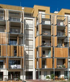 Wingårdhs designs prefabricated multi-family housing made entirely ...
