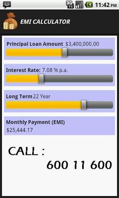 home loan emi calculator usa