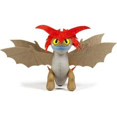 DreamWorks Dragons Action Dragon 8 inch Plush, Cloudjumper