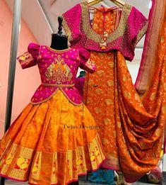 Bridal Silk Saree, Silk Sarees, Designer Clothing, Designer Dresses, Creative Food Art, Organza Dress, Indian Designer Wear, Daughter, Mom