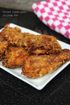 Crispy Cornflakes Chicken Fry - Recipe Book