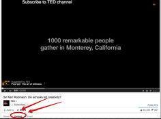 An Important YouTube Tip for Teachers and Educators ~ Educational Technology and Mobile Learning