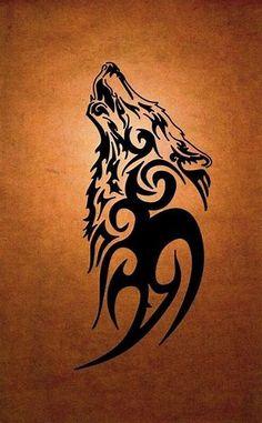 Image result for Irish Wolf Tattoo Designs