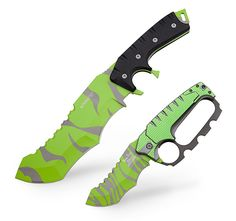 These Jurassic Hunter Blades are just the ticket for all your being-cornered-by-a-dinosaur needs. Choose one with a fixed or spring-assisted blade.
