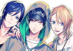 B-Project Anime Boys, Manga Anime, Hot Anime Boy, Cute Anime Guys, Manga Art, Otaku, Boy Illustration, Anime Style, Anime Couples