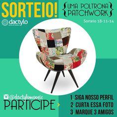 Sorteio Instagram Dactylo Móveis - Blog Dactylo