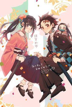 Read Kimetsu No Yaiba / Demon slayer full Manga chapters in English online! Manga Anime, Anime Demon, Otaku Anime, Anime Art, Demon Slayer, Slayer Anime, Anime Love, Manga Dragon, Hyouka