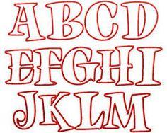 Letter styles block