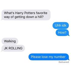 terrible Harry Potter pun, i saw it coming yet i still laughed. well more like half-snickered.